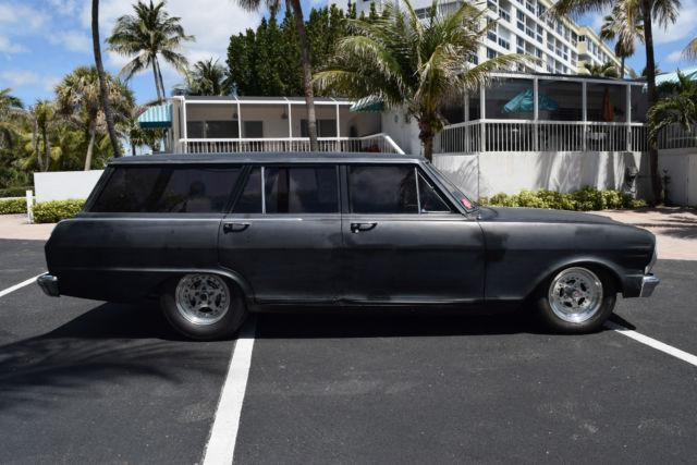 1965 chevy ii nova wagon turbo 383 street car. Black Bedroom Furniture Sets. Home Design Ideas
