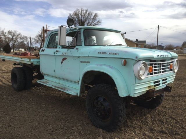 1965 Dodge Power Wagon W500 4x4 Crew cab 2 ton