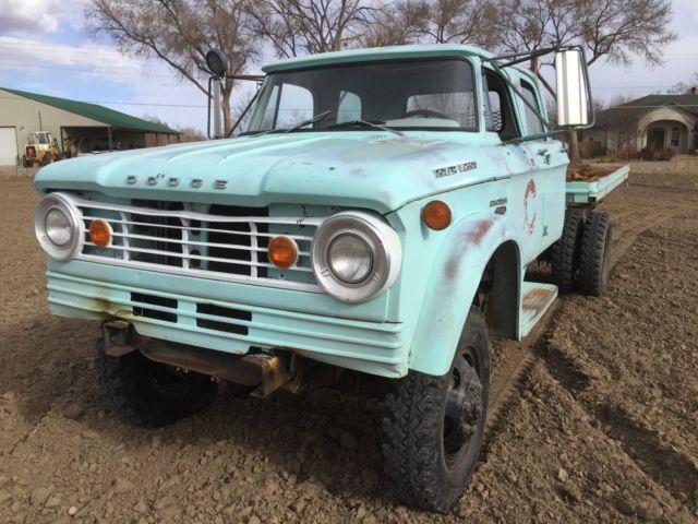Colorado Springs Dodge >> 1965 Dodge Power Wagon W500 4x4 Crew cab 2 ton