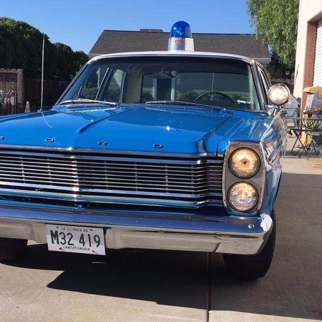 1965 Ford Custom Chicago Police Car Clone