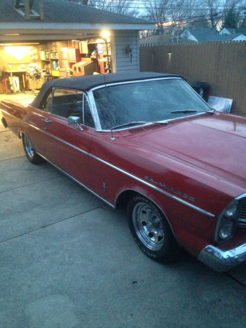 1965 ford galaxie 500 convertible 390 v8 automatic. Black Bedroom Furniture Sets. Home Design Ideas