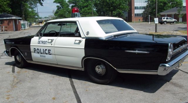 1965 ford galaxie 500 police car. Black Bedroom Furniture Sets. Home Design Ideas