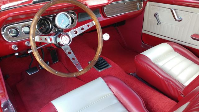 1965 Ford Mustang Fastback 2 2 A Code 289 4 Speed Pony Interior Disc Brakes