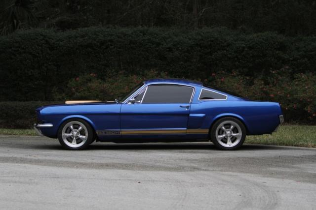 Ford Mustang Lease >> 1965 Ford Mustang Fastback Restomod