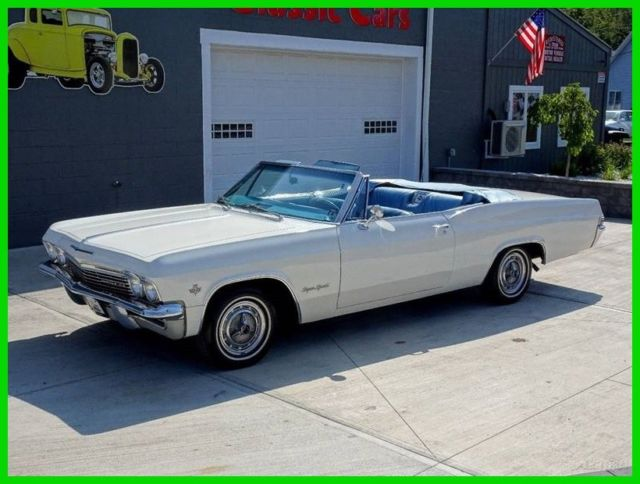 1965 impala ss super sport convertible numbers matching low reserve. Black Bedroom Furniture Sets. Home Design Ideas