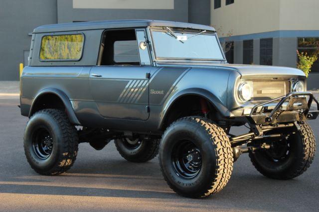 1965 International Scout 800 Custom Restored 4x4 Scout 2 ...