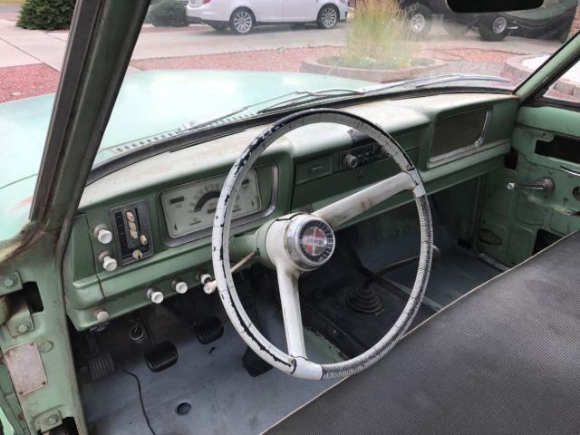 Jeep J20 For Sale >> 1965 Jeep Gladiator short bed truck J-200 4x4 AMC V8 J10 J3000 J4000 J300