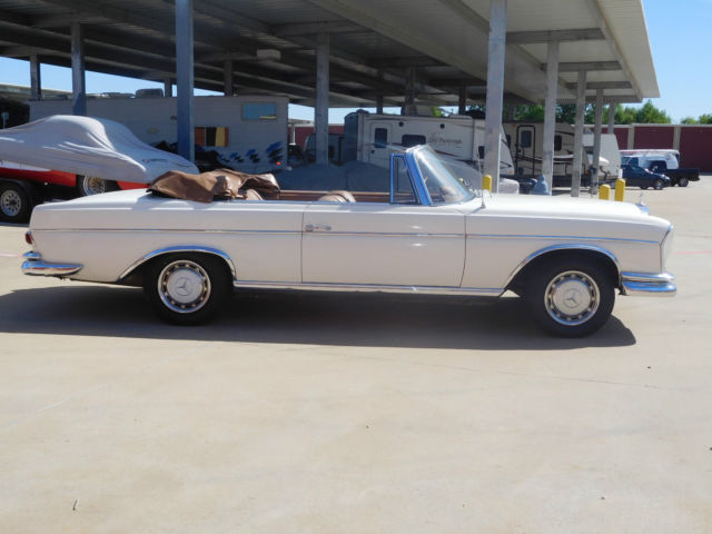1965 mercedes 220se cabriolet european manual transmission for 1965 mercedes benz 220se for sale