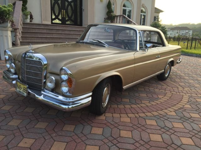 1965 mercedes benz 220se 4 speed coupe for 1965 mercedes benz 220se for sale