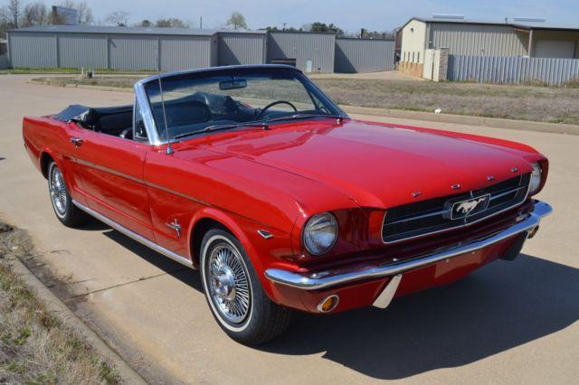Dallas Classic Cars >> 1965 Mustang Convertible (64 1/2)