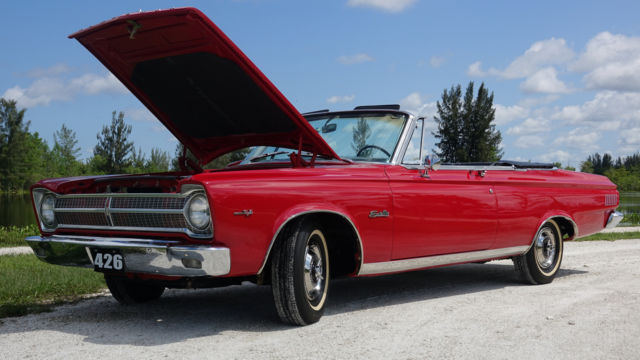 1965 Plymouth Satellite Convertible Frame Off 1 Of 21