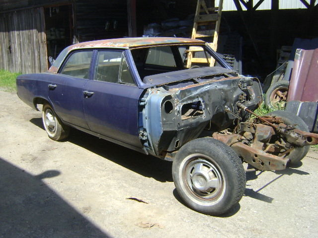 1966 1967 Chevelle Parts Car Or Donor Rust Free 4 Door Excellent Frame