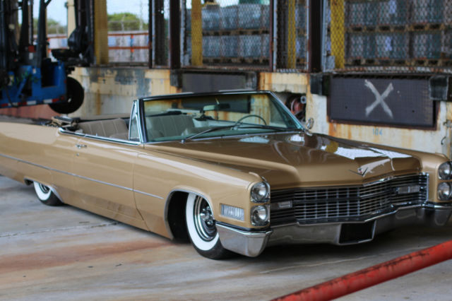 1966 cadillac deville convertible airbags air ride. Black Bedroom Furniture Sets. Home Design Ideas