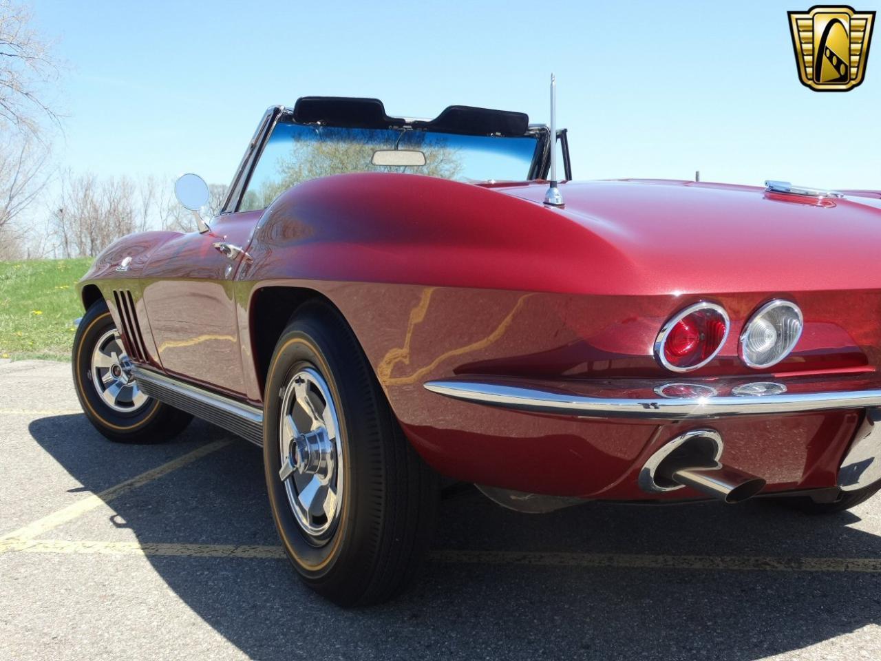 1966 Chevrolet Corvette Stingray 4700 Miles Milano Maroon Chevy Convertible 427 Cid V8 Prevnext