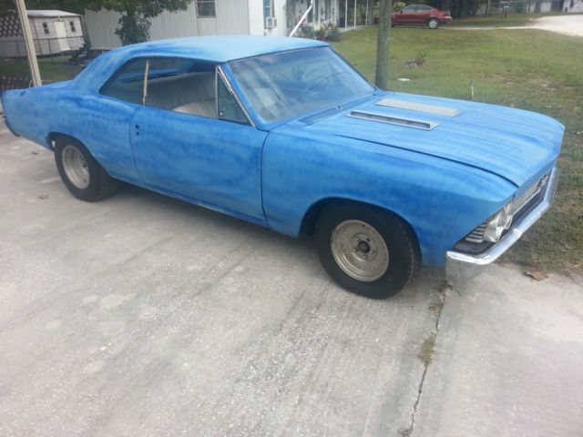 1966 Chevy Chevelle Ss Clone 454 Auto Running Driving
