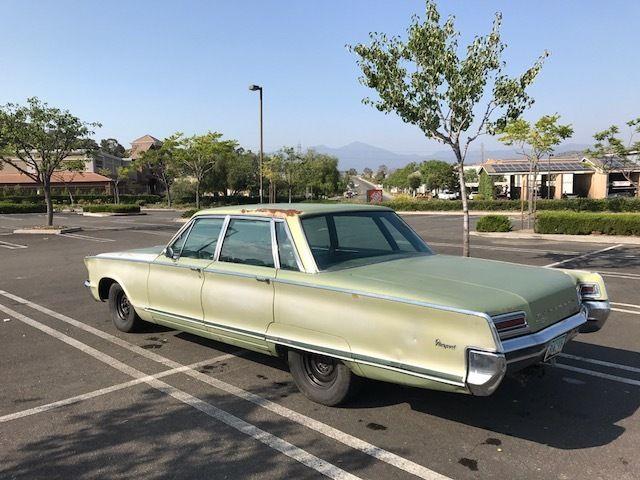 1966 Chrysler Newport Runs Absolutely Beautiful And Runs