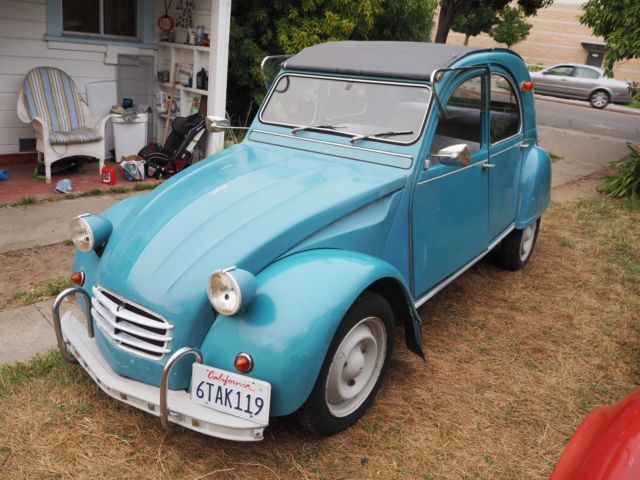 1966 citroen deux chevaux 2cv high nevada desert rust free car. Black Bedroom Furniture Sets. Home Design Ideas