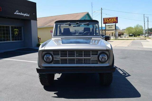1966 Ford Bronco 1 Gray SUV V8 Other Automatic