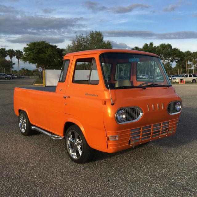1966 ford econoline pickup rare v8 misfit garage fans look. Black Bedroom Furniture Sets. Home Design Ideas