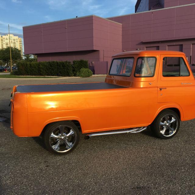"""Sarasota Classic Cars >> 1966 FORD ECONOLINE PICKUP - RARE V8 """"MISFIT GARAGE"""" FANS LOOK!"""