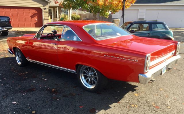 1966 Ford Fairlane 500 Restomod Hot Rod Street Strip Muscle Car PrevNext