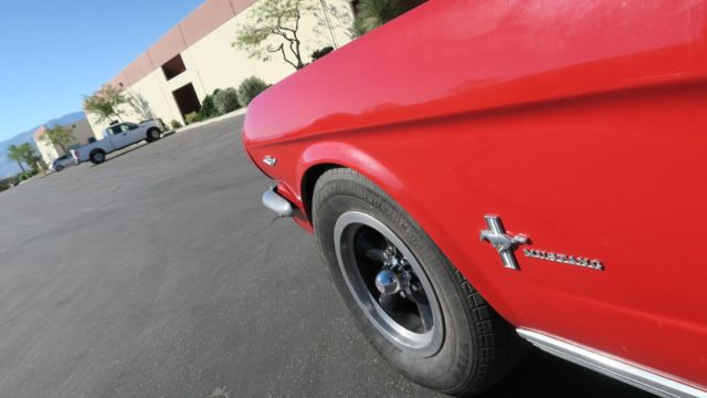 1966 Ford Mustang 289 V8 C Code San Jose Car P S Air Conditioning