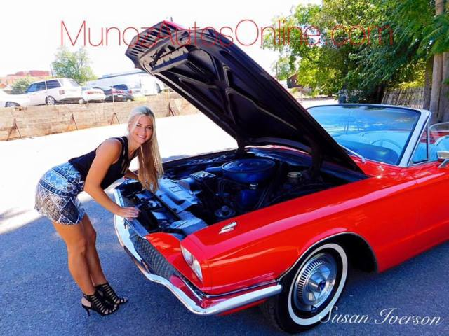1966 Ford Thunderbird 2door Convertible Hot Red