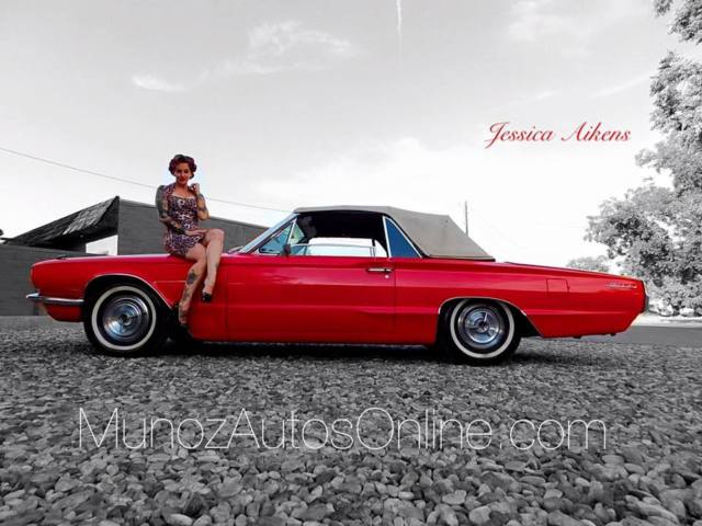 1966 Ford Thunderbird 2door Convertible Hot Red