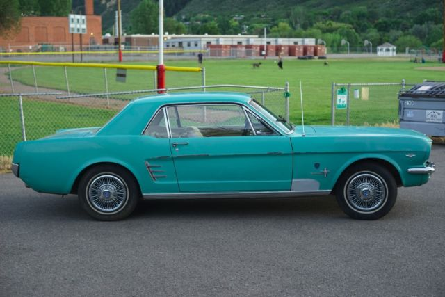 1966 Hcs Mustang High Country Special Timberline Green