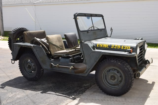 1966 Jeep M151a1 Rare Usmc Mutt Model W Accessories Usa Vietnam War Era America