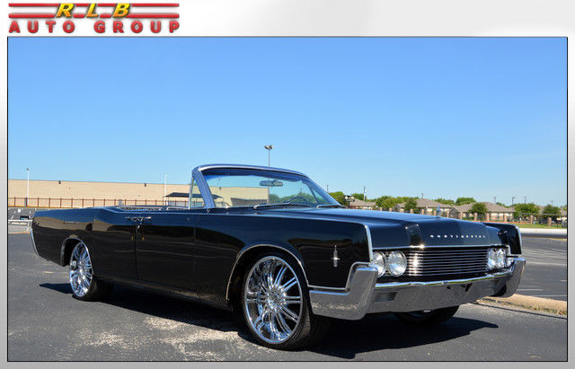 1966 lincoln continental 4 door convertible looks drives. Black Bedroom Furniture Sets. Home Design Ideas