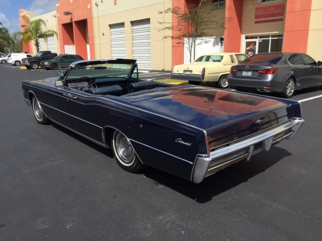 1966 lincoln continental convertible no reserve. Black Bedroom Furniture Sets. Home Design Ideas