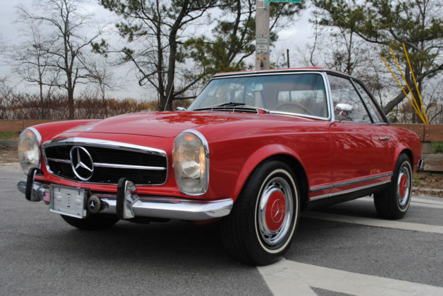 1966 Mercedes Benz 230 Sl 230sl W113 Cabriolet Hard Top