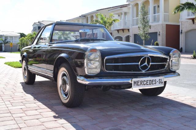 1966 Mercedes Benz 230sl Pagoda Top Concourse Quality Nut