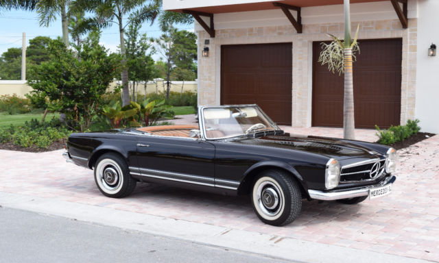 Classic Car Restoration Mercedes Benz  Sl In Florida