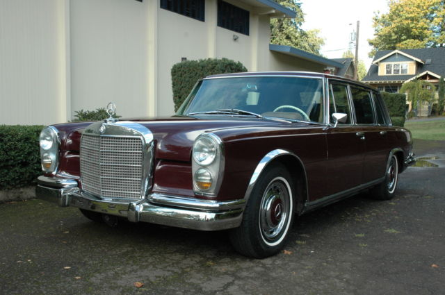 1966 Mercedes Benz 600 Swb Limousine California Car