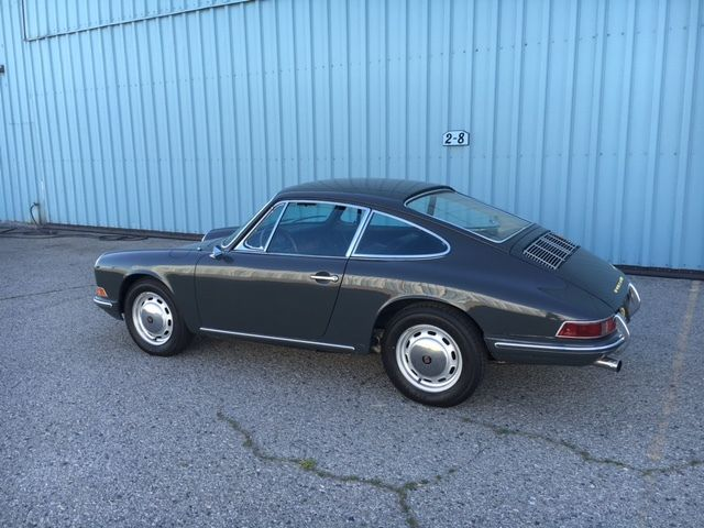 1966 porsche 911coupe slate grey very nice. Black Bedroom Furniture Sets. Home Design Ideas