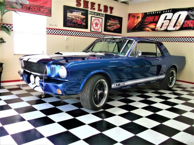 1966 Shelby GT350 R 289 Manual Cold A C 1967 Eleanor Rims 1965 1968 Fastback