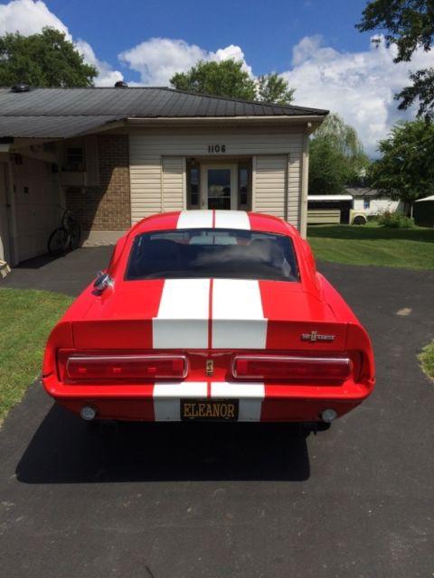 1967 Mustang Eleanor Model Kit