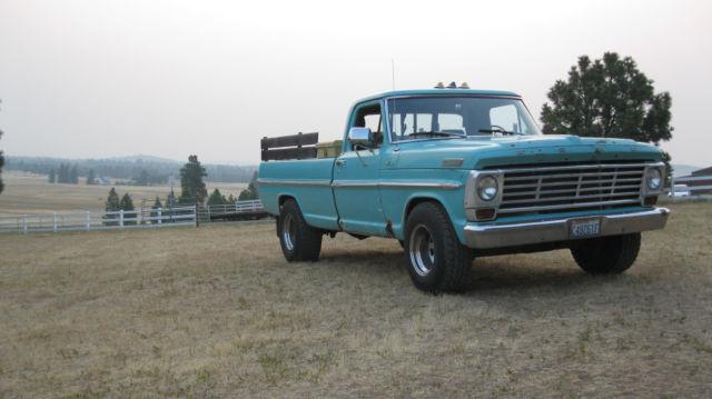 1967 67 ford f250 f 250 3 4 ton pickup p u truck. Black Bedroom Furniture Sets. Home Design Ideas