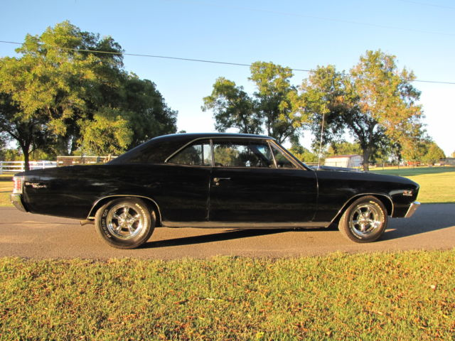 Chevrolet Chevelle Malibu Speed Loaded With Options Black On Black