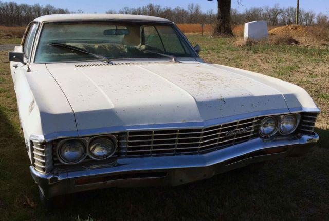 1967 chevrolet impala 4 door hard top supernatural project car. Black Bedroom Furniture Sets. Home Design Ideas