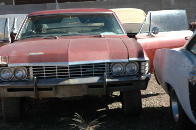 1967 chevrolet impala ss project car. Black Bedroom Furniture Sets. Home Design Ideas