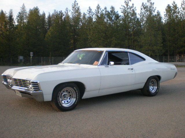 1967 chevy impala muncie 4 speed CA hot rod 327 posi NO RESERVE CAR
