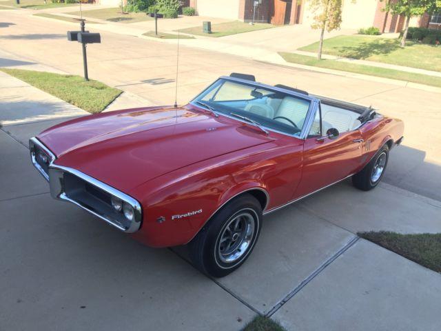 1967 Pontiac Firebird - Low-Mileage 326 H.O. First-Gen 'Bird - Hot ...