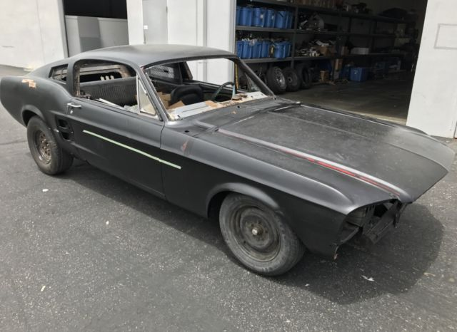 1967 Ford Mustang Fastback Project Car For Sale: 1967 Ford Mustang Fastback Project Car
