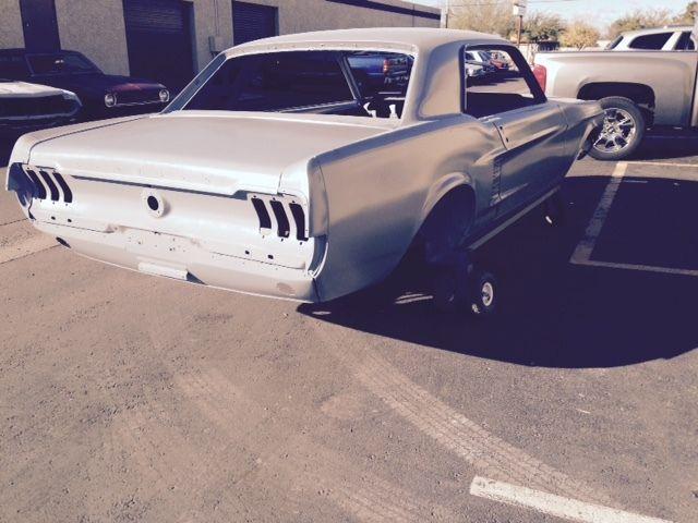 1967 Ford Mustang Sand Blasted Epoxy Coated Arizona Car