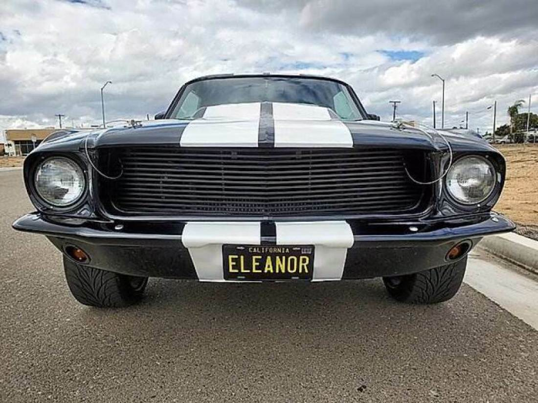Mustang Shelby Gt500 Eleanor 1967 Miniature