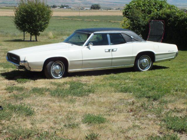 1967 Ford Thunderbird 4 Door Landau Hardtop 428 Q Code V8 Suicide Doors