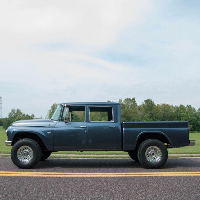 International Crew Cab 4x4 For Sale >> 1967 International-Harvester 100B Travelette ,Rarely seen 4x4 Crew Cab!